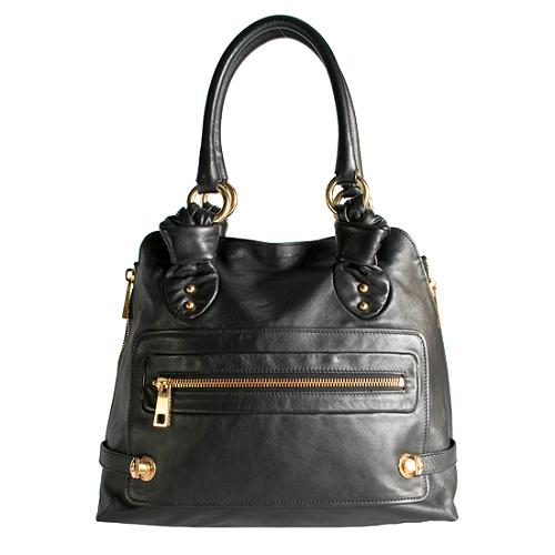 Marc Jacobs Leather Tenant Tote