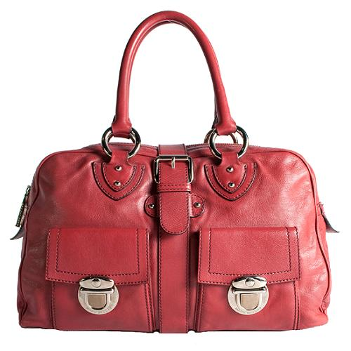 Marc Jacobs Leather Venetia Satchel Handbag