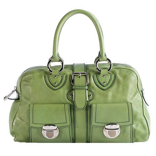 Marc Jacobs Leather Venetia Satchel Handbag