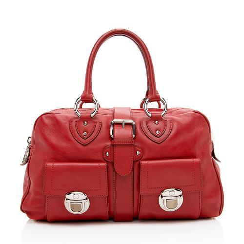 Marc Jacobs Leather Venetia Satchel