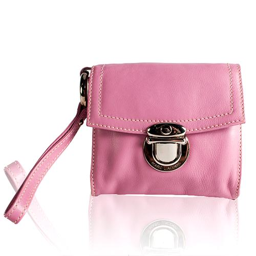 Marc Jacobs Leather Wristlet