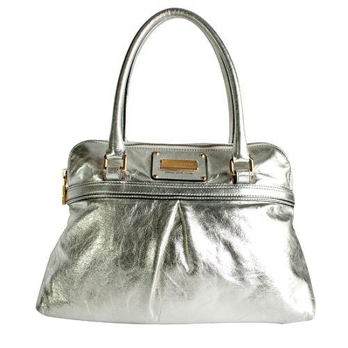 Marc Jacobs Metallic Jen Satchel Handbag
