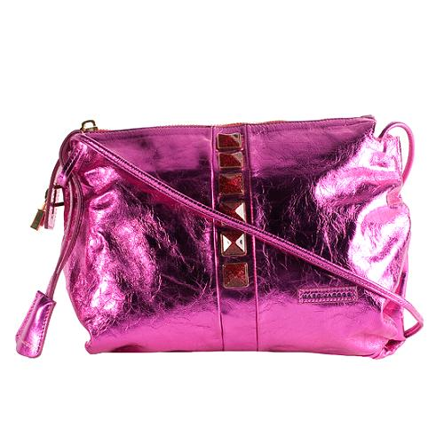 Marc Jacobs Metallic Leather O C Shoulder Handbag