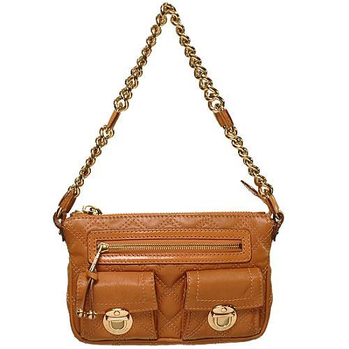 Marc Jacobs Quilted Cammie Shoulder Handbag