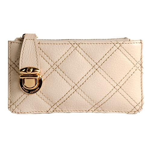 Marc Jacobs Quilted Leather Key Pouch