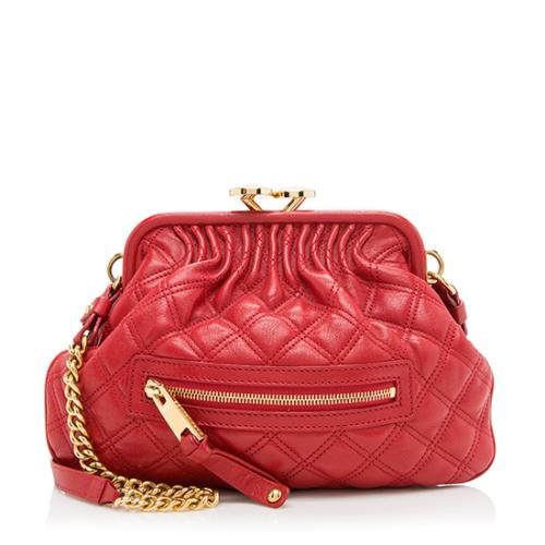 Marc Jacobs Quilted Leather Little Stam Satchel