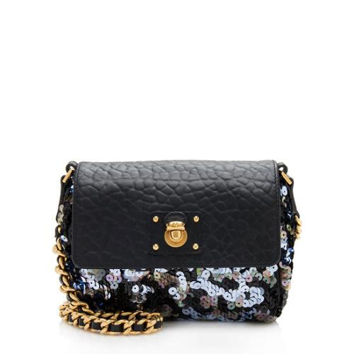 Marc Jacobs Sequin Single Small Shoulder Bag