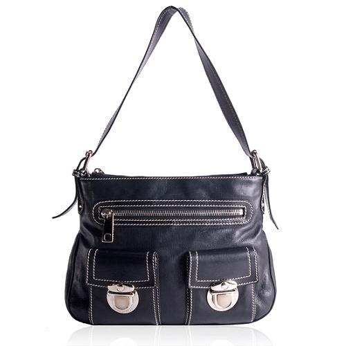 Marc Jacobs Sophia Leather Shoulder Handbag