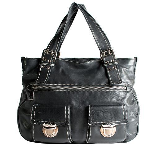 Marc Jacobs Stella Leather Shoulder Handbag