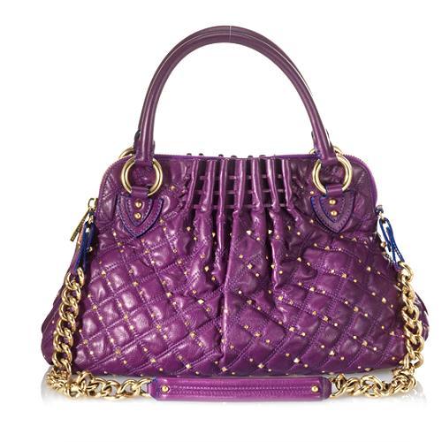 Marc Jacobs Studded Stardust Cecilia Satchel Handbag