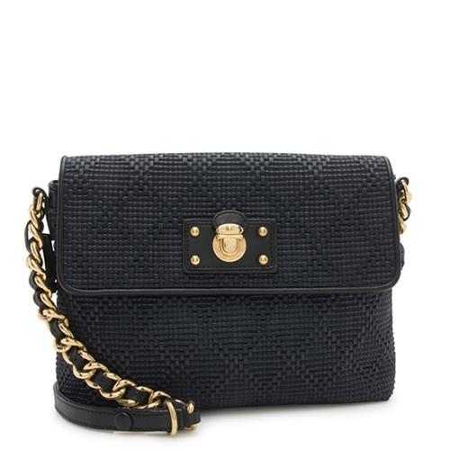 Marc Jacobs Woven Debbie Shoulder Bag