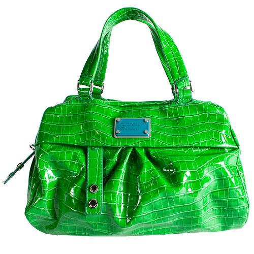 Marc by Marc Jacobs Croc of Q Remy Satchel Handbag