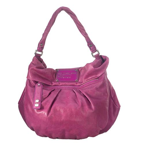 Marc by Marc Jacobs Dr. Q Lil Riz Leather Hobo Handbag