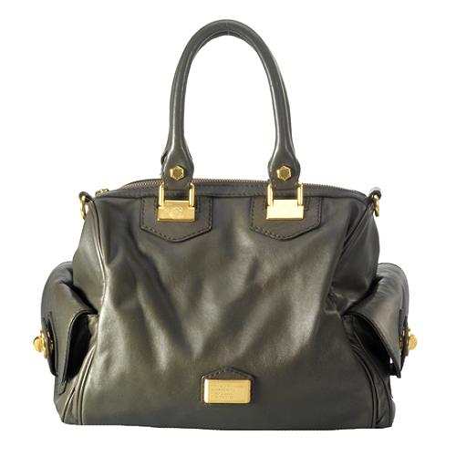Marc By Jacobs House Of Leather Satchel Handbag