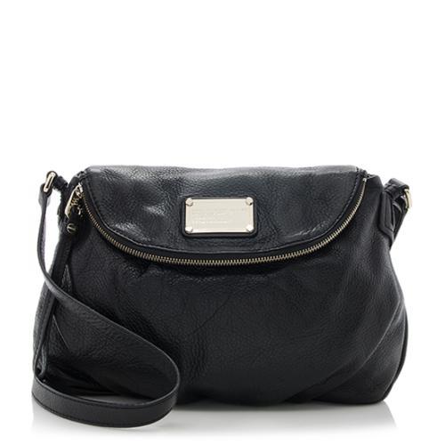 Marc by Marc Jacobs Leather Classic Q Natasha Shoulder Bag