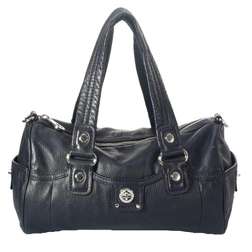 Marc by Marc Jacobs Leather Totally Turnlock Posh Satchel Handbag