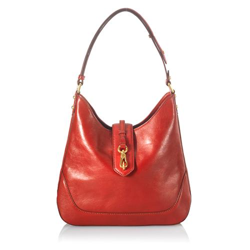 Marc by Marc Jacobs Leather Voyage Hobo Handbag
