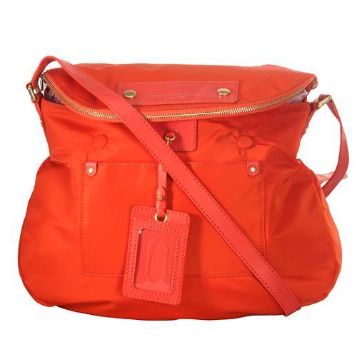 Marc by Marc Jacobs Sasha Preppy Nylon Shoulder Handbag