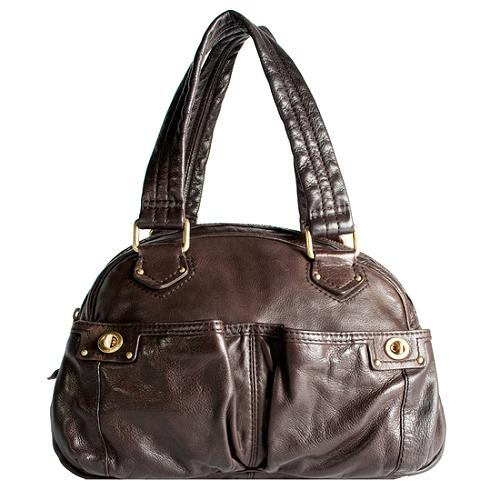 Marc by Marc Jacobs Totally Turnlock Bowler Satchel Handbag