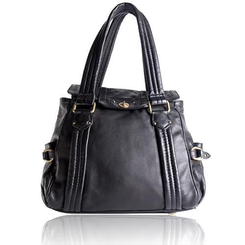 Marc by Marc Jacobs Totally Turnlock Leather Tote