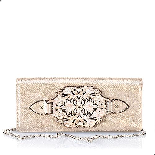 Mary Norton Bella Donna Large East/West Clutch