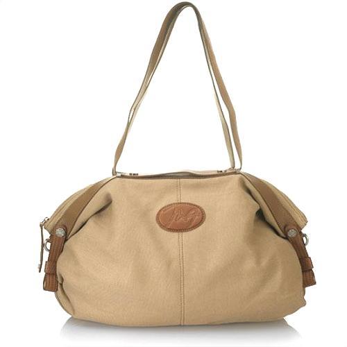 Max Azria Iona Large Convertible Satchel Handbag