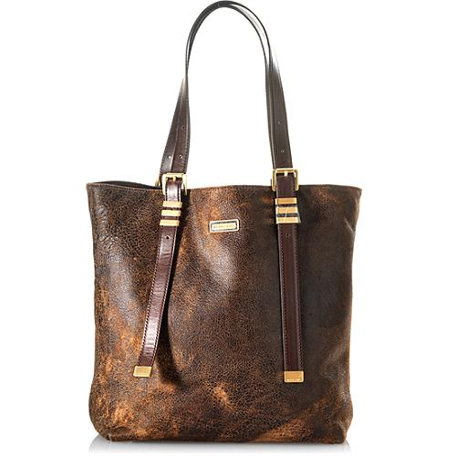 Michael Kors Darrington Large North South Distressed Leather Tote