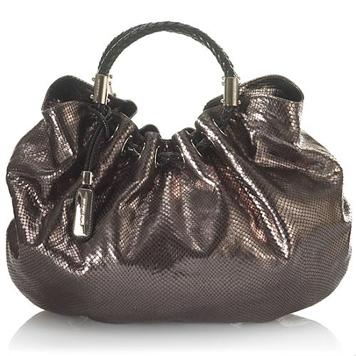 Michael Kors Leather Skorpois Ring Tote