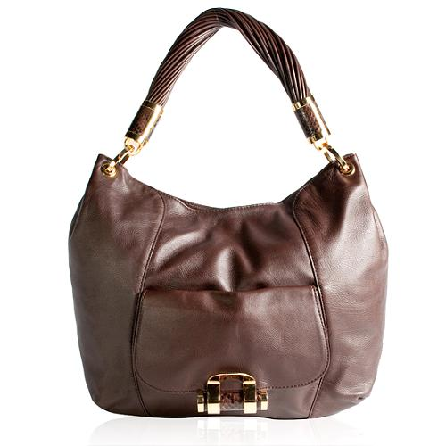 Michel Kors Tonne Large Shoulder Handbag