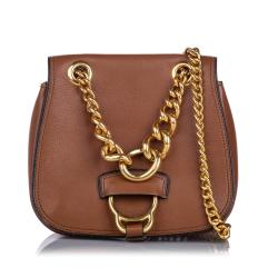 Miu Miu Leather Dahlia Crossbody Bag