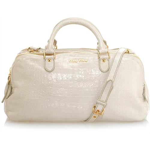 Miu Miu Leather Handbag - FINAL SALE
