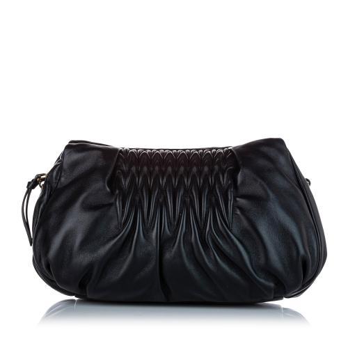 Miu Miu Matelasse Nappa Shoulder Bag