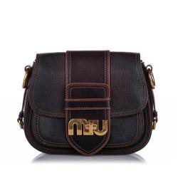 Miu Miu Miu Leather Crossbody Bag