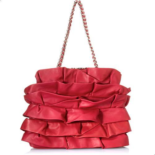 Moschino Borsa Tracolla Ruffle Handbag