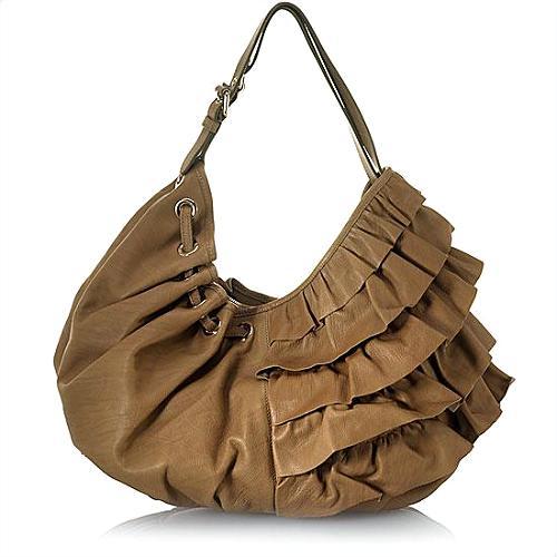 Moschino Bubble Ruffle Shoulder Handbag - FINAL SALE
