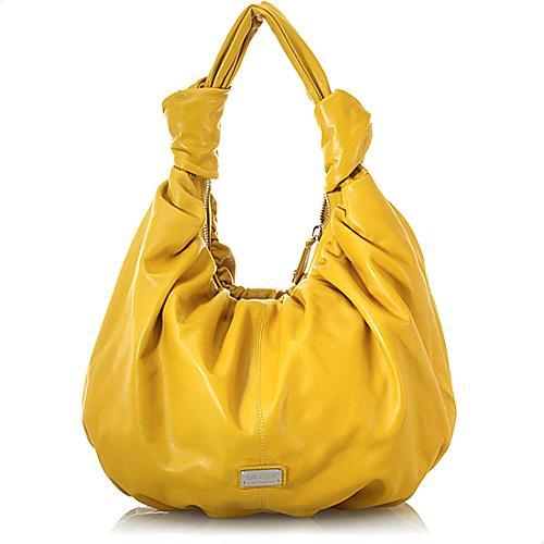 Moschino Calf Leather Shoulder Handbag