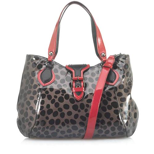 Moschino Leopard Printed Tote