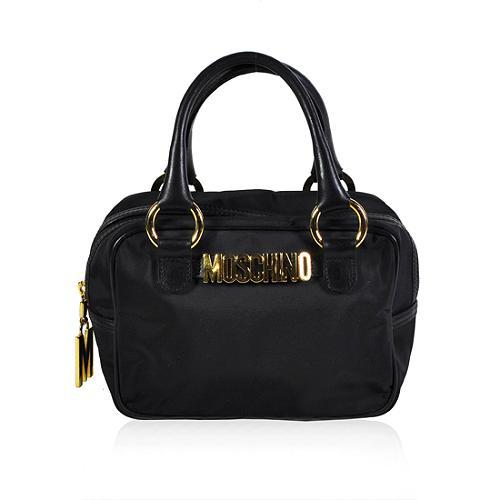 Moschino Logo Satchel Handbag