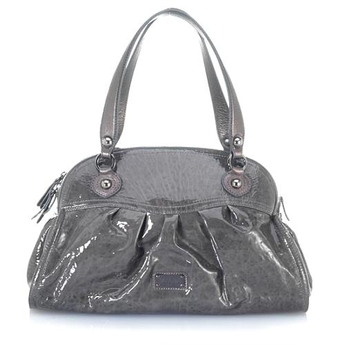 Moschino Patent Leather Shoulder Handbag