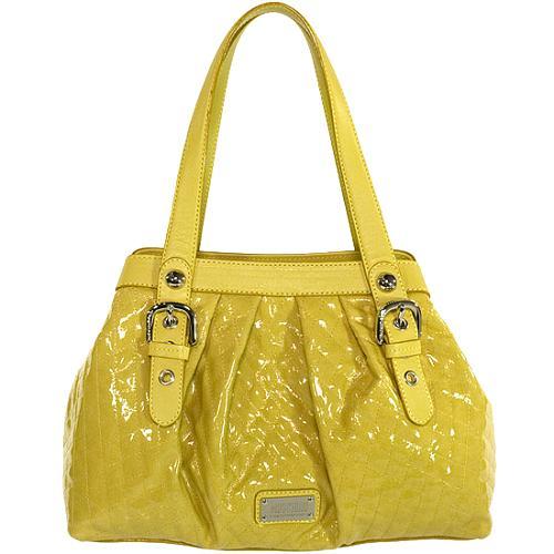 Moschino Quilted Shoulder Handbag