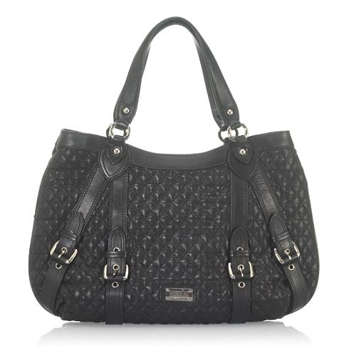 Moschino Quilted Shoulder Tote