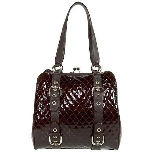 Moschino Slim City Shoulder Handbag