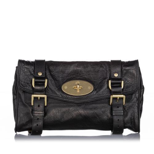 Mulberry Leather Alexa Crossbody Bag