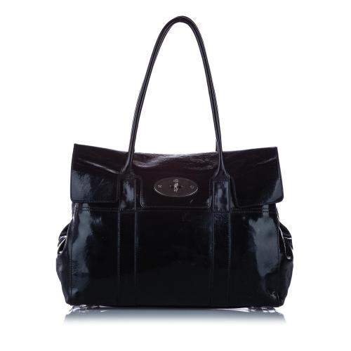 Mulberry Bayswater Patent Leather Shoulder Bag