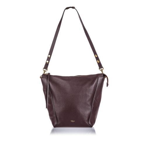 Mulberry Grained Leather Camden Shoulder Bag