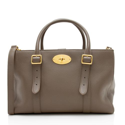 Mulberry Leather Bayswater Double-Zip Tote