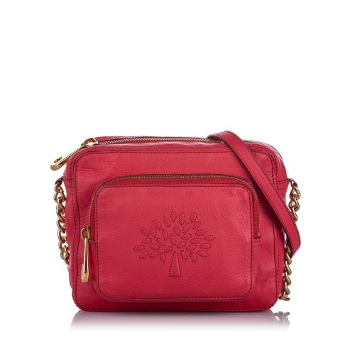 Mulberry Leather Crossbody Bag