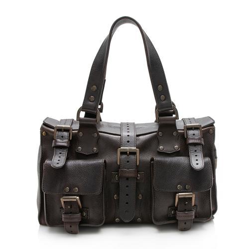 Mulberry Leather Roxanne Shoulder Bag