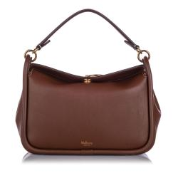 Mulberry Leather Leighton Satchel