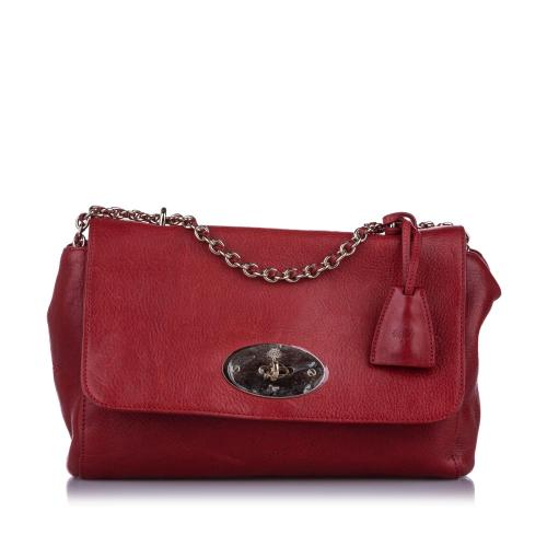 Mulberry Medium Lily Leather Shoulder Bag